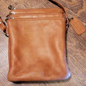 Paul and Taylar Camel, Crossbody, bag, Leather